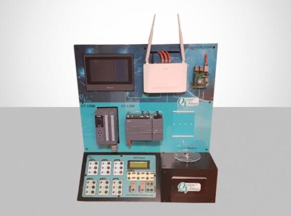 مجموعه آموزشی  (IIoT industrial internet of things)  QV-IIoT-STAND-A