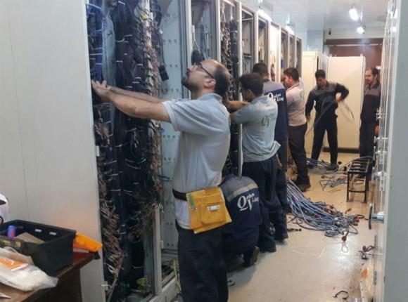 واحد پروژه های شرکت قشم ولتاژ
