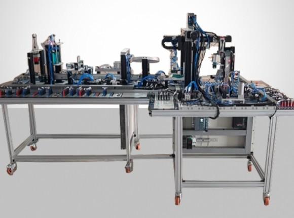 سیستم رباتیک هوشمند 10 ایستگاه QV-MEC-10